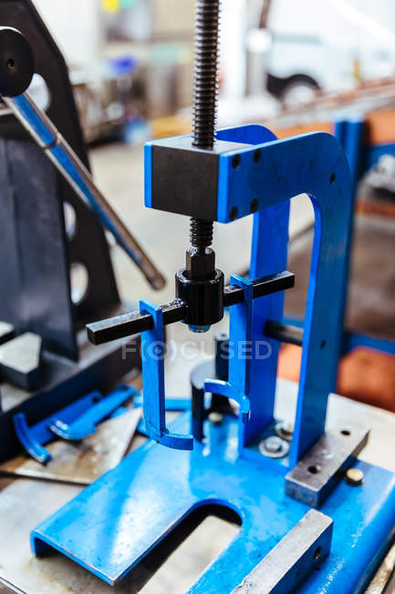 Tool in mechanical workshop — Stock Photo