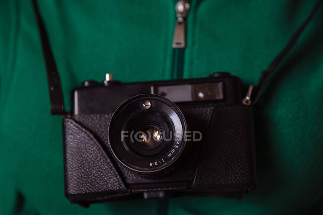 Ретро фотоапарат — стокове фото