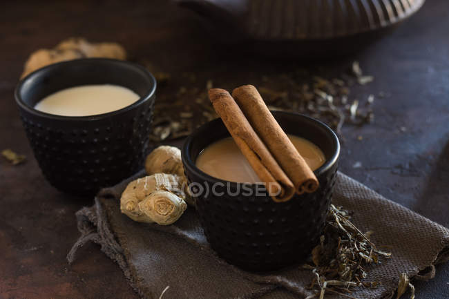 Oriental tasse de thé Chai — Photo de stock