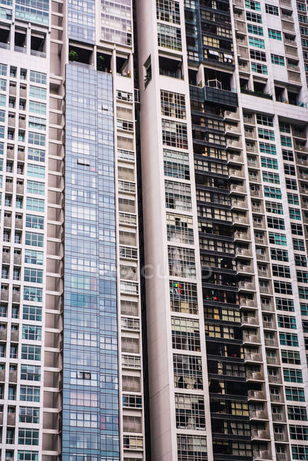 Moderne appartement tall tower, Singapour — Photo de stock