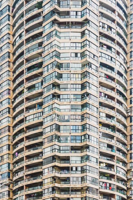 Wohn-Eigentum-Haus mit vielen Wohnungen, Chongqing, China — Stockfoto