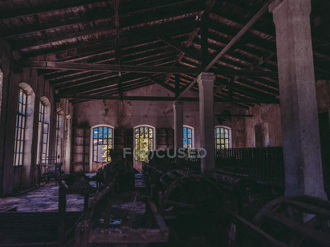Room in old factory — Stock Photo