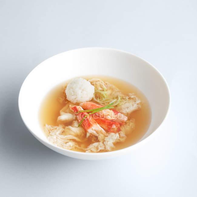 Japanese misu soup — Stock Photo