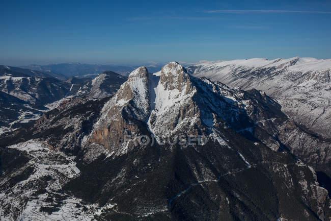 Вид з гірських пік — стокове фото