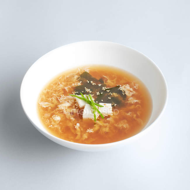 Japanese misu soup — Stock Photo