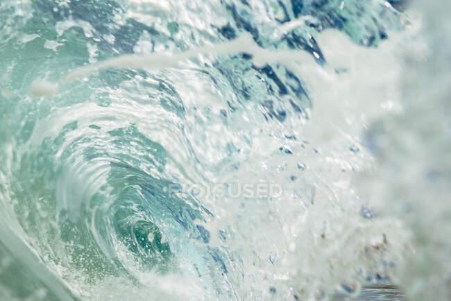 Beautiful dark ocean wave — Stock Photo