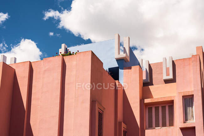 Exterior of a modern architecture building — Stock Photo