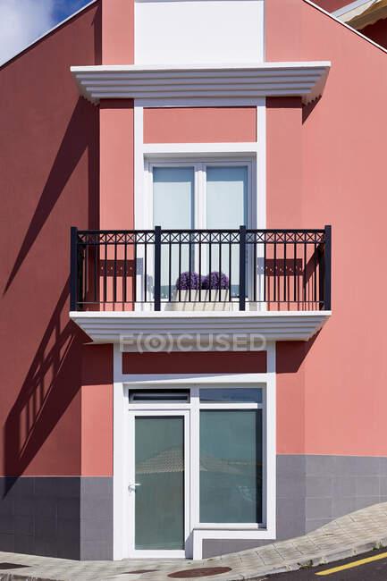 Arquitetura moderna na cidade — Fotografia de Stock