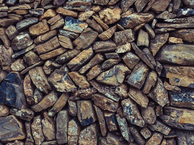Nahaufnahme rauen Stein abstrakte Wand Textur Hintergrund. — Stockfoto