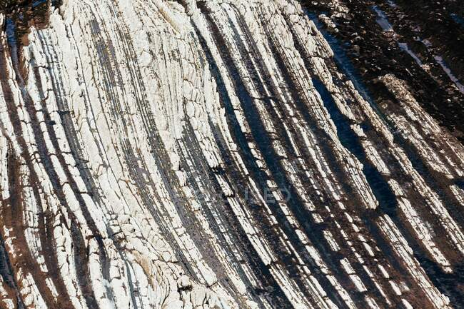 View of rough rocky surface — Stock Photo
