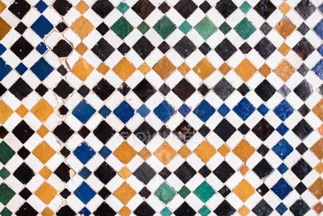 Вінтаж ручної роботи плитки керамічної фону — стокове фото