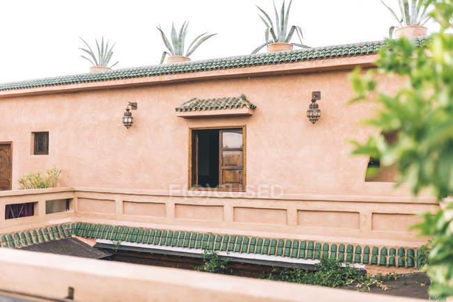 Schöne marokkanische Riad-Architektur — Stockfoto