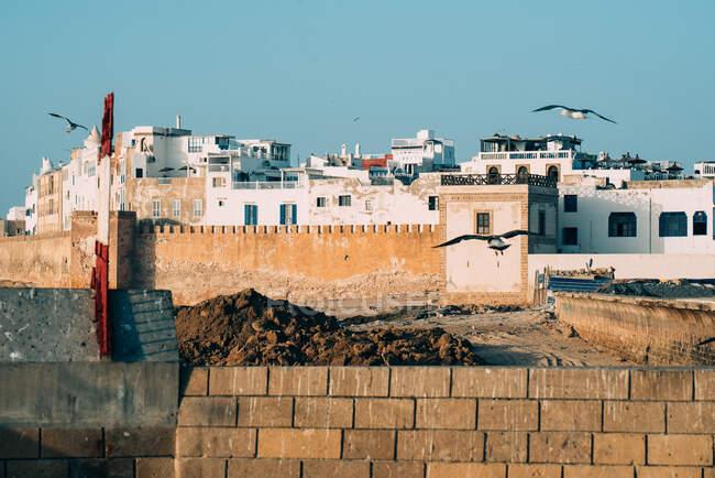 Marokkanische Festungsstadt in Essaouira — Stockfoto