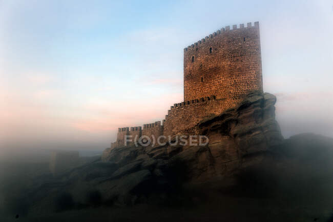 Castle of Zafra. Game of Thrones, Tower of Spain, Europe — Stock Photo