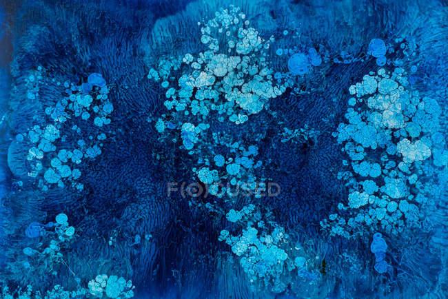 Abstraktion flüssiger Farben im langsamen Mischen — Stockfoto