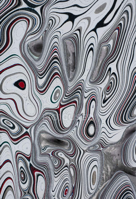 Pattern of colorful automotive enamel material — Stock Photo