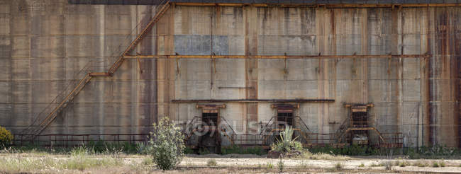 Old mining structures in Riotinto, Huelva — Stock Photo
