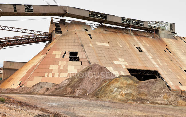 Old mining structure in Riotinto, Huelva, Spain — Stock Photo