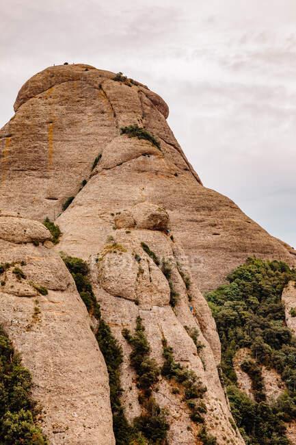 Landscape of the mountains of Montserrat, Catalonia, Spain — Stock Photo