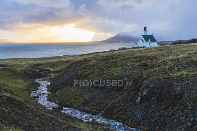 Exploring the western region in Iceland, Europe — Stock Photo