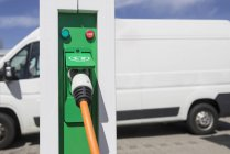 Ladestation für Elektrofahrzeuge — Stockfoto