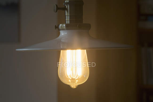 Illuminated pendant light — Stock Photo