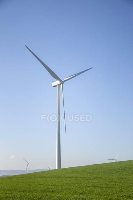 Вітряк у сфері — стокове фото