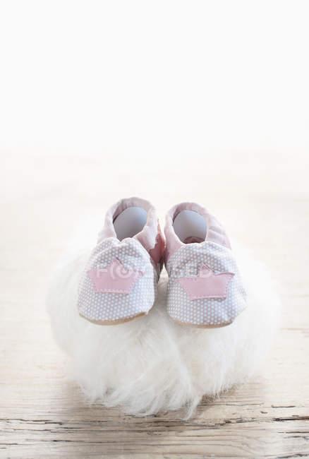 Детские туфли — стоковое фото