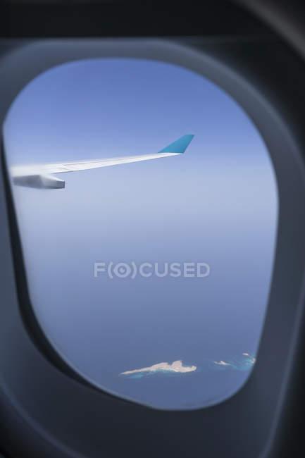 Vista do pórtico da ilha no mar vermelho — Fotografia de Stock