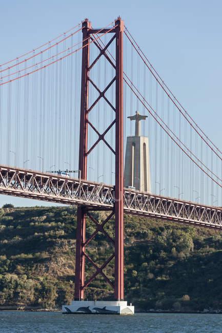 25 aprile Ponte sul fiume Tago — Foto stock