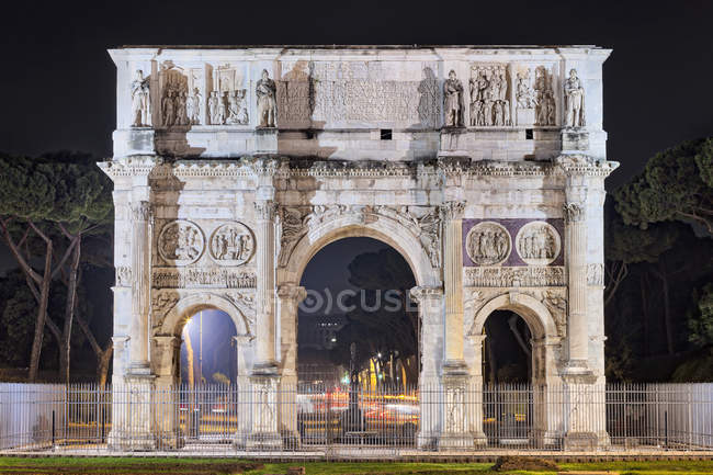 Перегляд Тріумфальна арка — стокове фото
