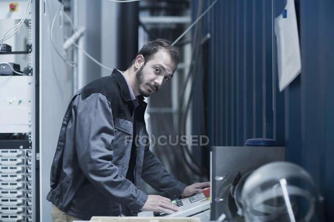 Pannello di controllo aggiornamento ingegnere — Foto stock