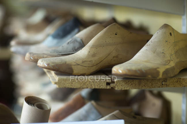 Wooden shoe stretchers — Stock Photo