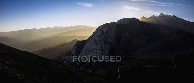 Picos de europa montagne — Foto stock