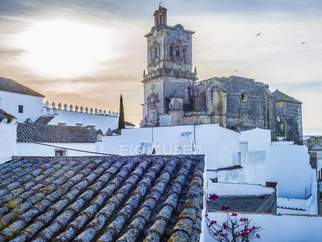 Древню базиліку Arcos de la Frontera, Іспанія — стокове фото
