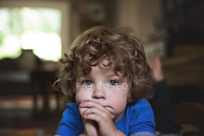 Adorable little boy — Stock Photo