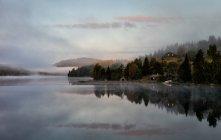 Landschaft im frühen Morgen — Stockfoto