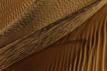 Waves of sand in desert — Stock Photo