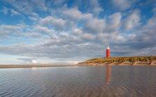 Vista do farol de Texel — Fotografia de Stock