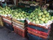 Гуава фрукти в продовольчому ринку — стокове фото