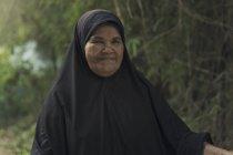 Old Muslim woman — Stock Photo