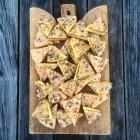 Mandelblättchen Tosca Tarte — Stockfoto