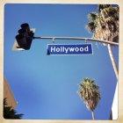 Hollywood boulevard zeichen — Stockfoto
