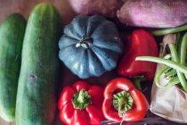 Закри свіжих овочів — стокове фото