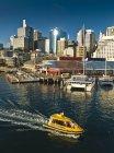 Taxi d'acqua, Darling Harbour, — Foto stock