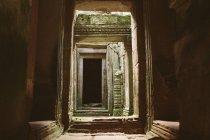 Passaggio del Tempio di Angkor Thom — Foto stock