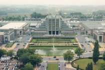 View on architecture of Brussels — Stock Photo