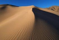 Panamint дюны в долине смерти — стоковое фото