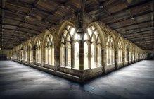 Claustro da Catedral de Durham — Fotografia de Stock