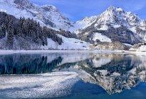 Montanha lago, Eugenisee, Engelberg — Fotografia de Stock